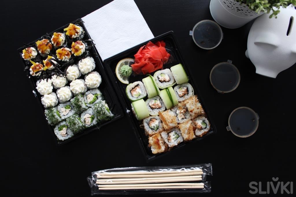"""Тестируем суши от """"Eda-dostavka"""" с 70% скидкой!"""