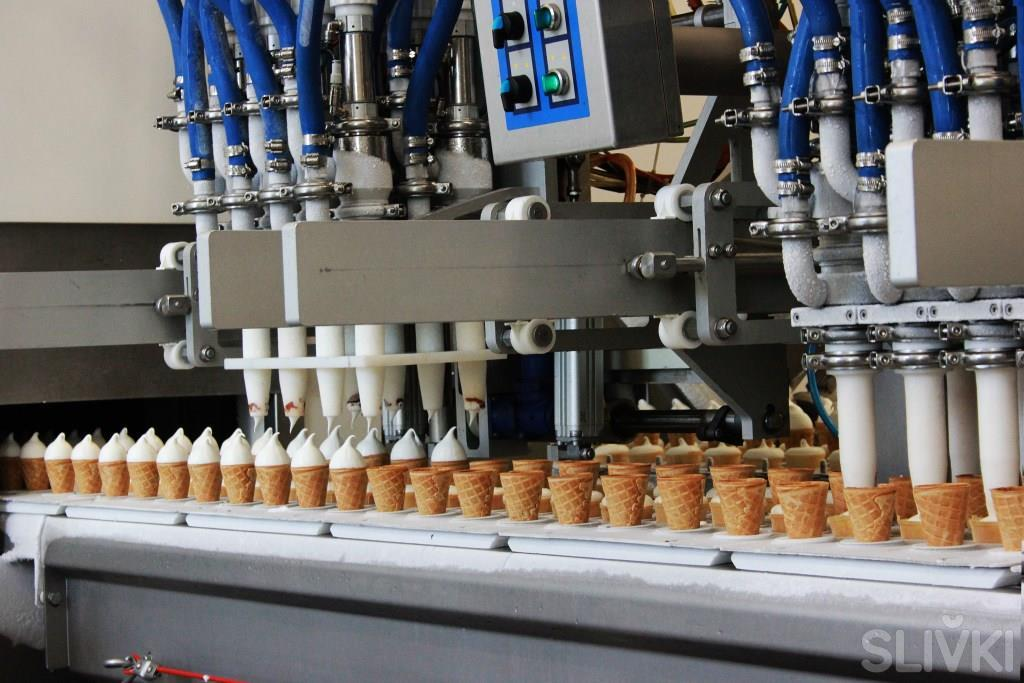 Как делают мороженое ЮККИ, ТОП и Soletto