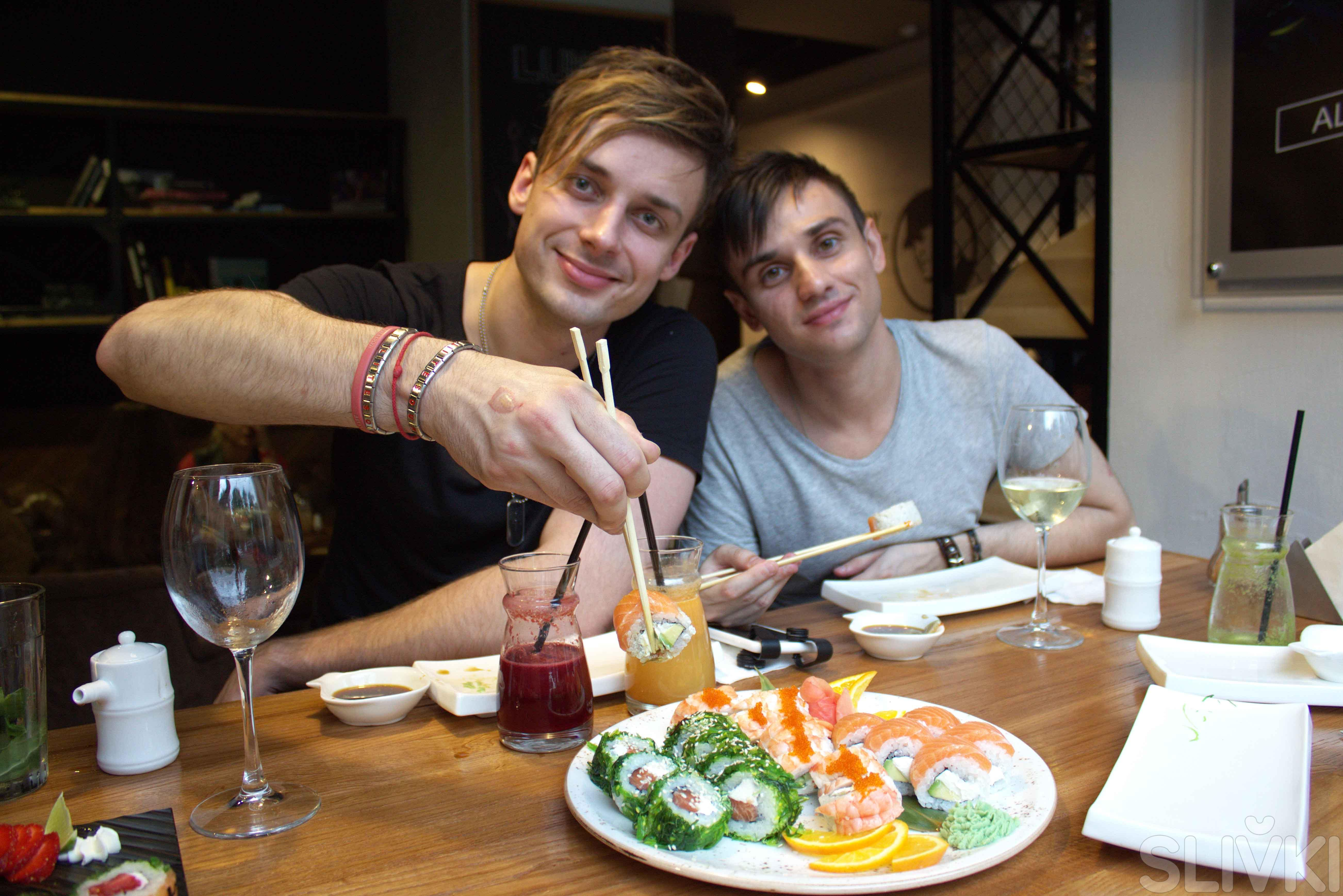 Вечер с Litesound: суши и картинг