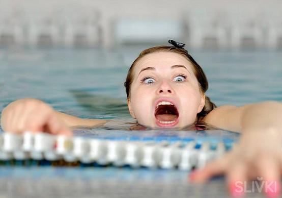 Как я поборола страх воды,  который не давал свободно жить 25 лет.