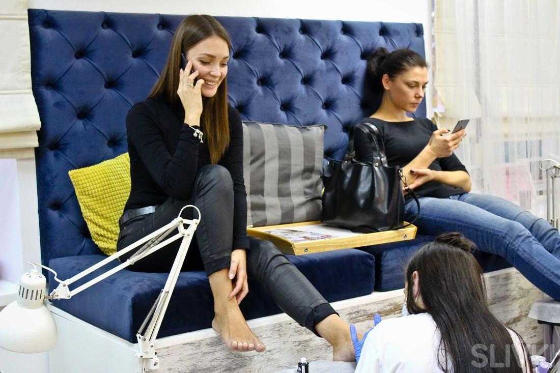 "Как Надежда Тимофеева провела время в ""Liami Studio"""