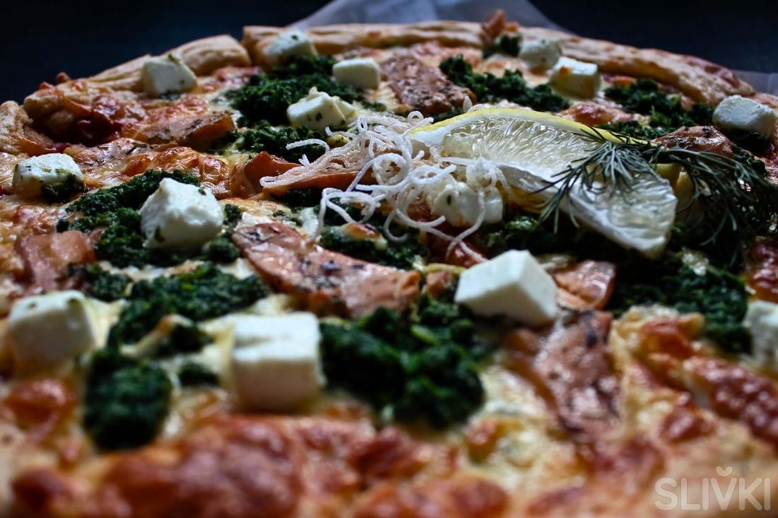 Первые полезные пиццы теперь на «Сливках»!