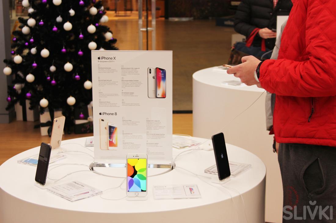 iPhone X прибыл в Минск! Его цена составила...
