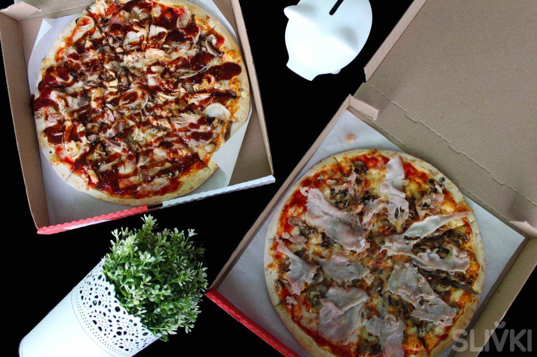 Рекомендуем: 2 пиццы богов за полцены!