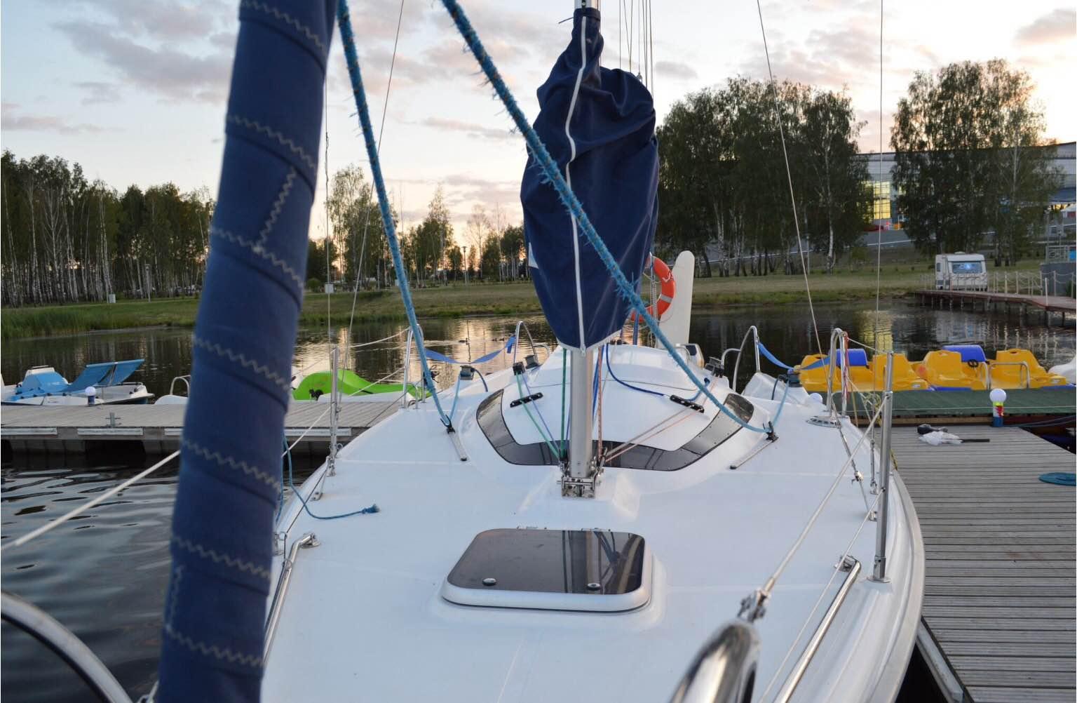 """Прогулка на яхте от яхт-клуба """"Светром"""" от 60 руб."""
