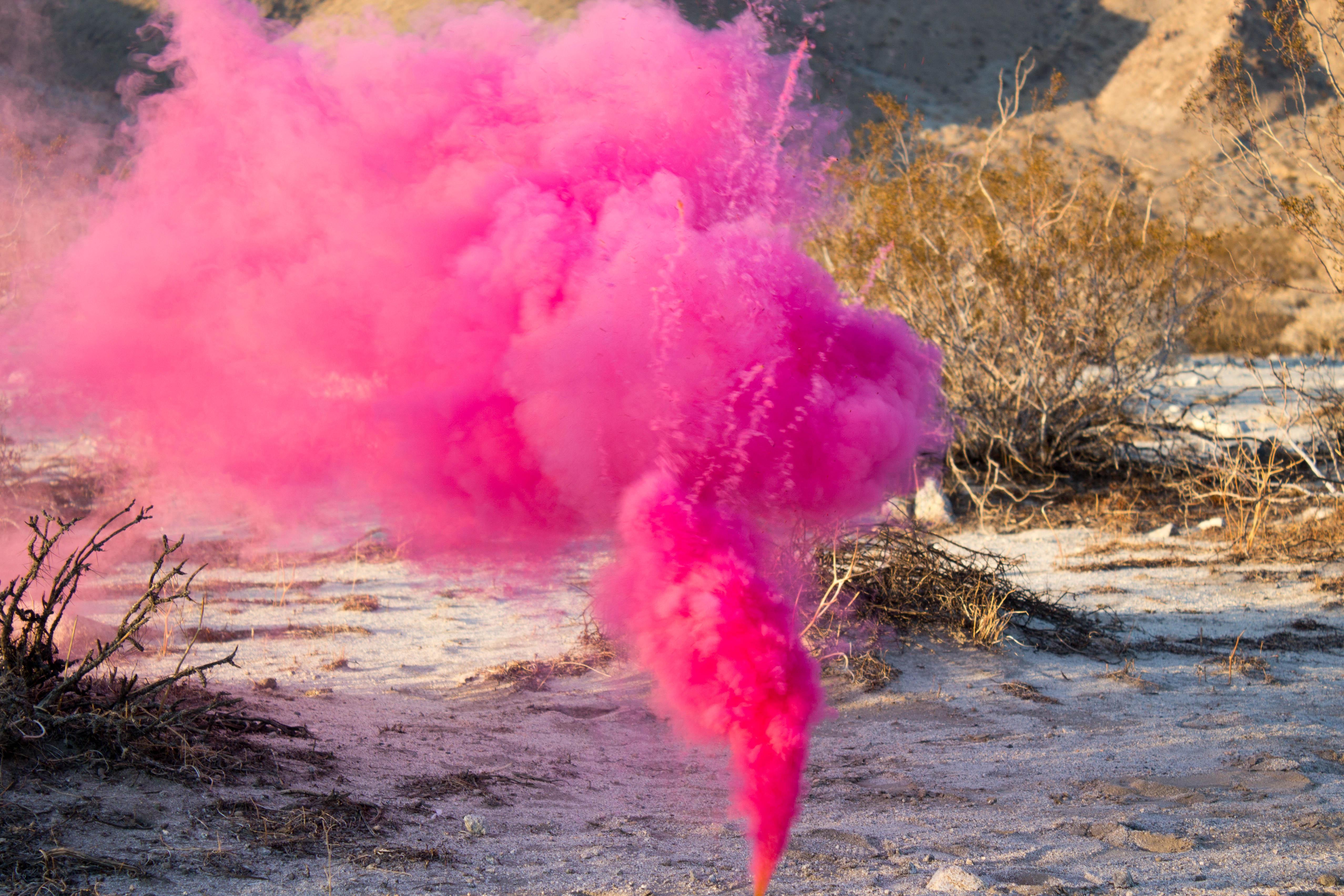 Цветной дым для фотосессий всего от 25 руб.