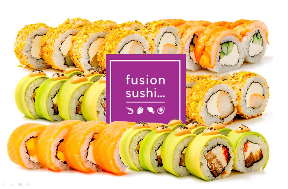 закажи суши в Fusion Sushi 8 марта