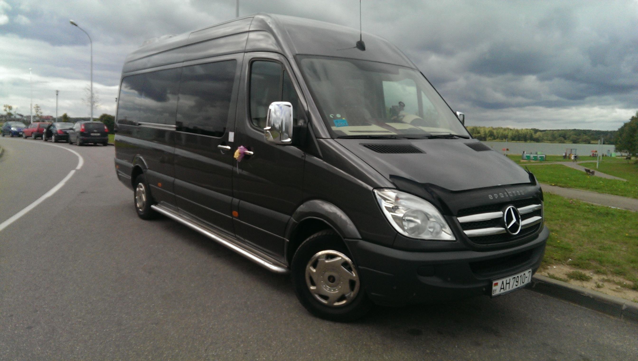 Аренда VIP-микроавтобуса всего от 28,50 руб.