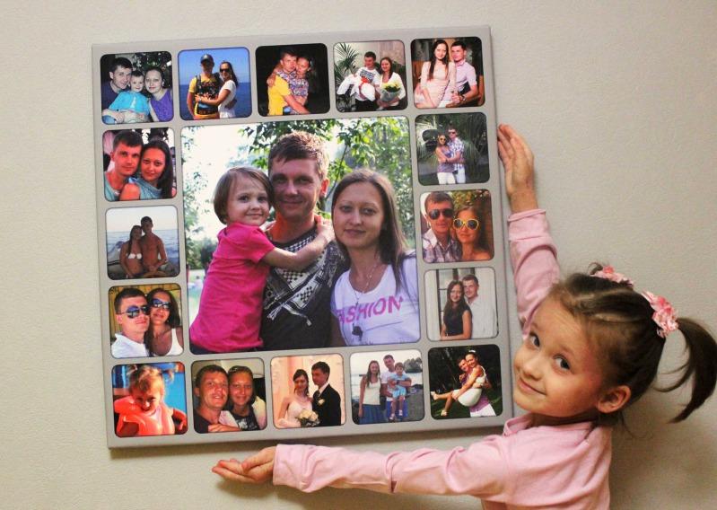 Коллаж с фотографиями своими руками семьи фото
