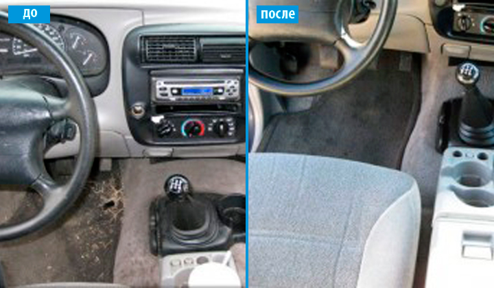 Комплексная химчистка авто от 48 руб. + 1 бесплатная мойка + подарки!
