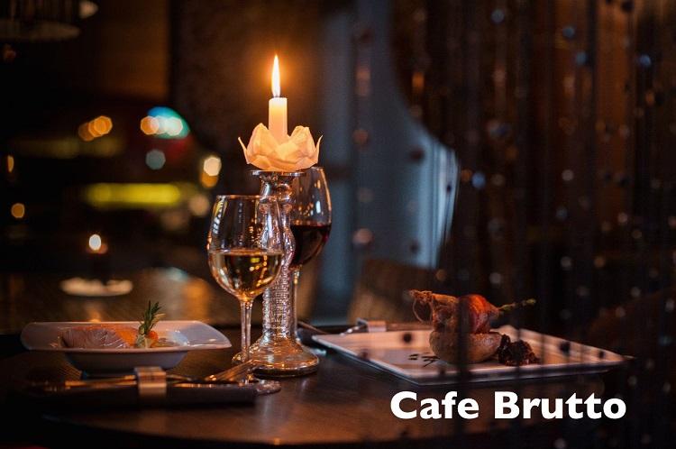 "Ужин на двоих за 35 руб. в ""Cafe Brutto"""