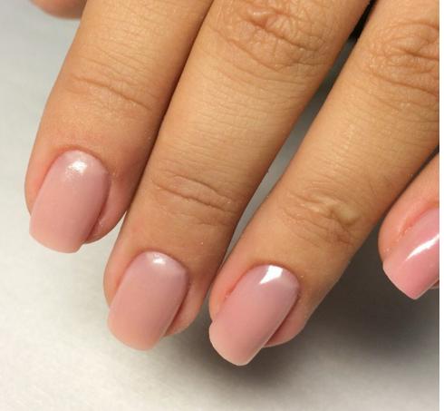 Покрытие гелем натуральных ногтей дизайн фото