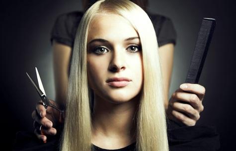 Стрижка горячими ножницами + 15 уходов за волосами от 14,90 руб.