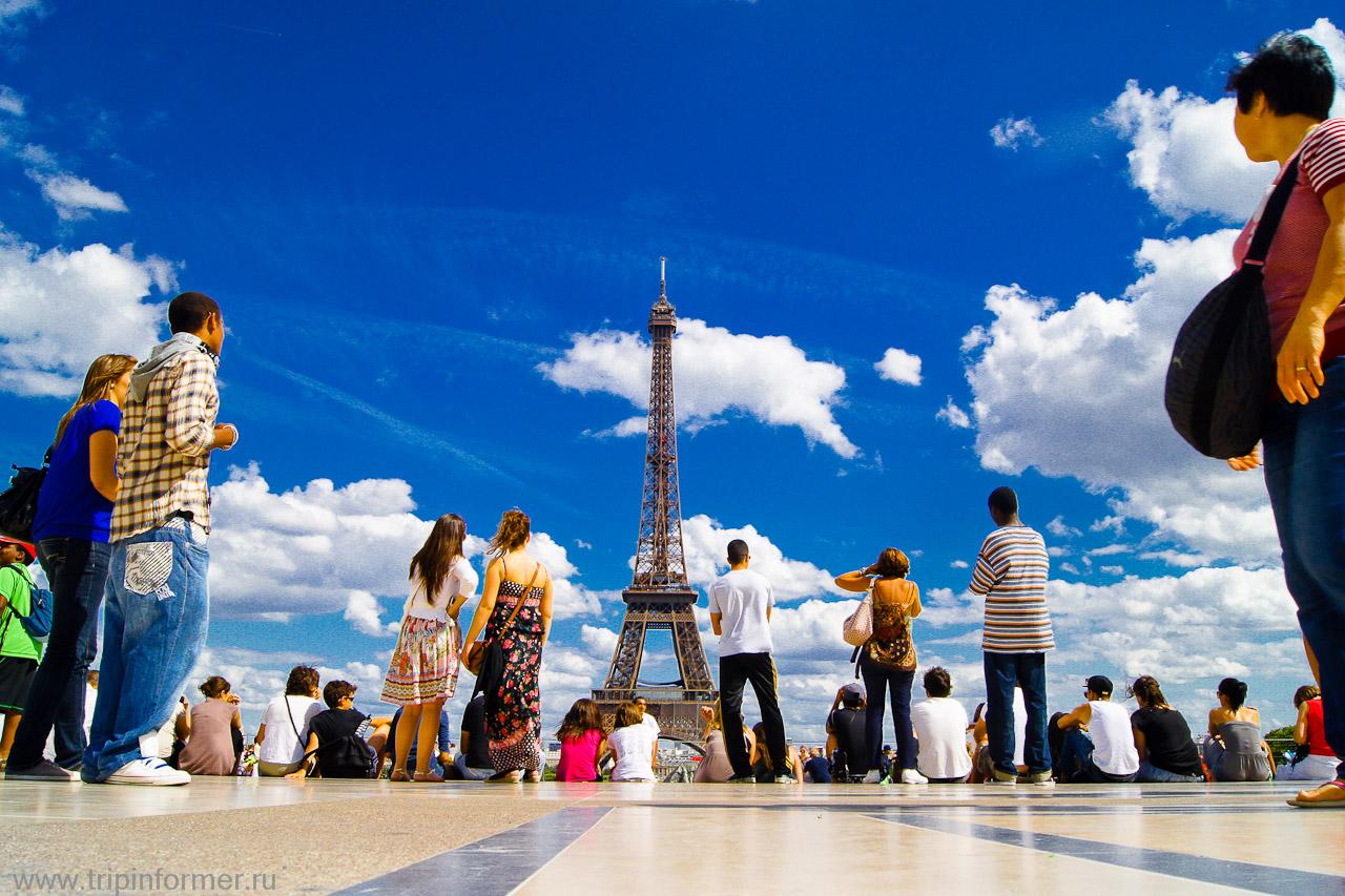 Тур в Париж всего за 455 руб./7 дней