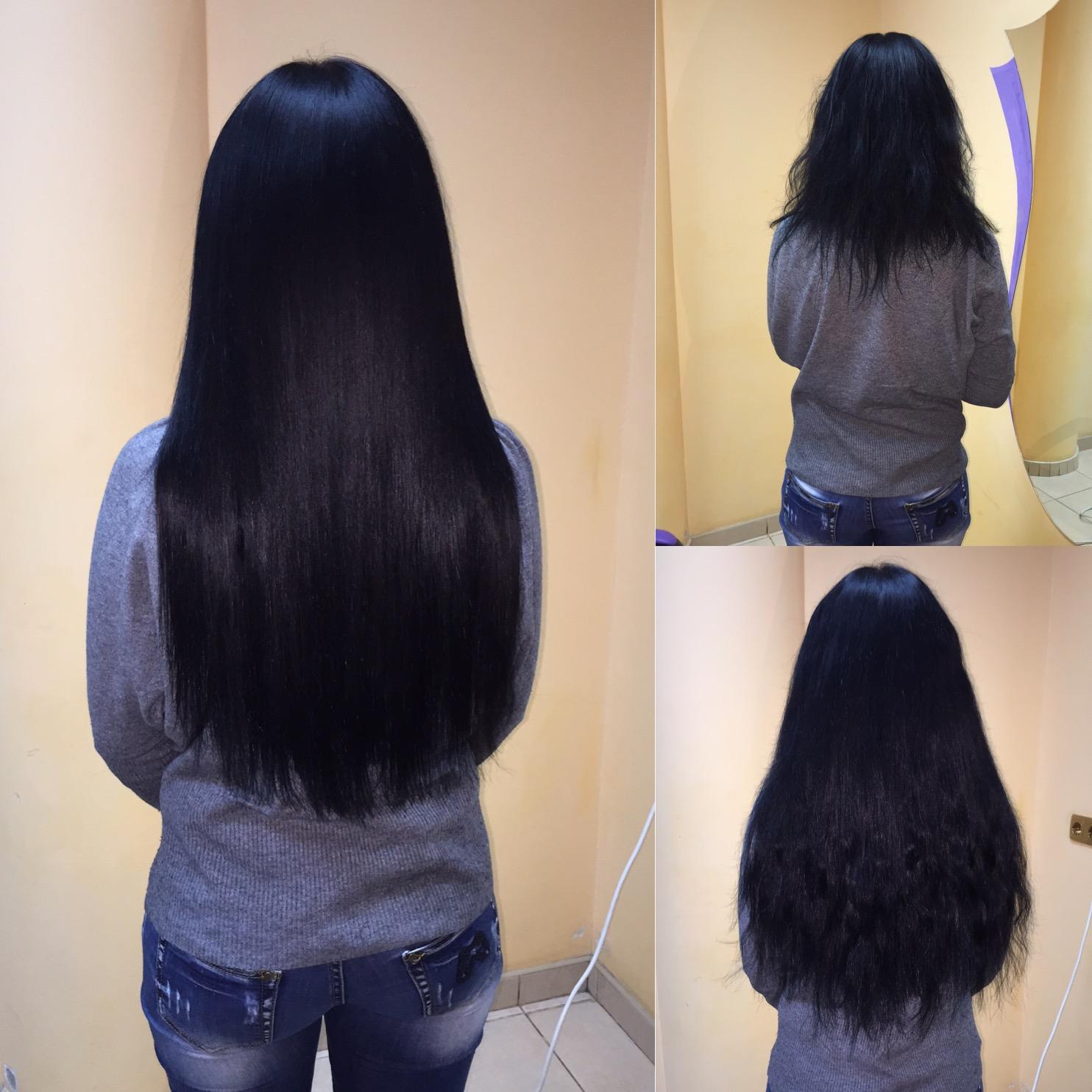 Итальянское наращивание волос, страз Swarovski, коррекция со скидкой 55%