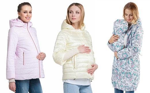 Куртки и пальто для беременных, слингокуртки в магазинах