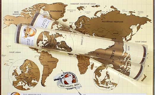 Скрэтч Карта Мира