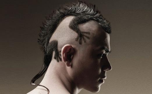рисунки на голове машинкой мужские фото